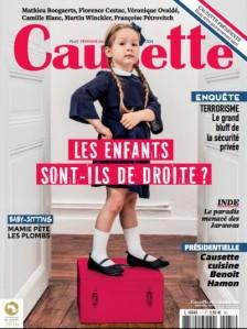 Une de couverture - Causette numéro #71 Octobre 2016