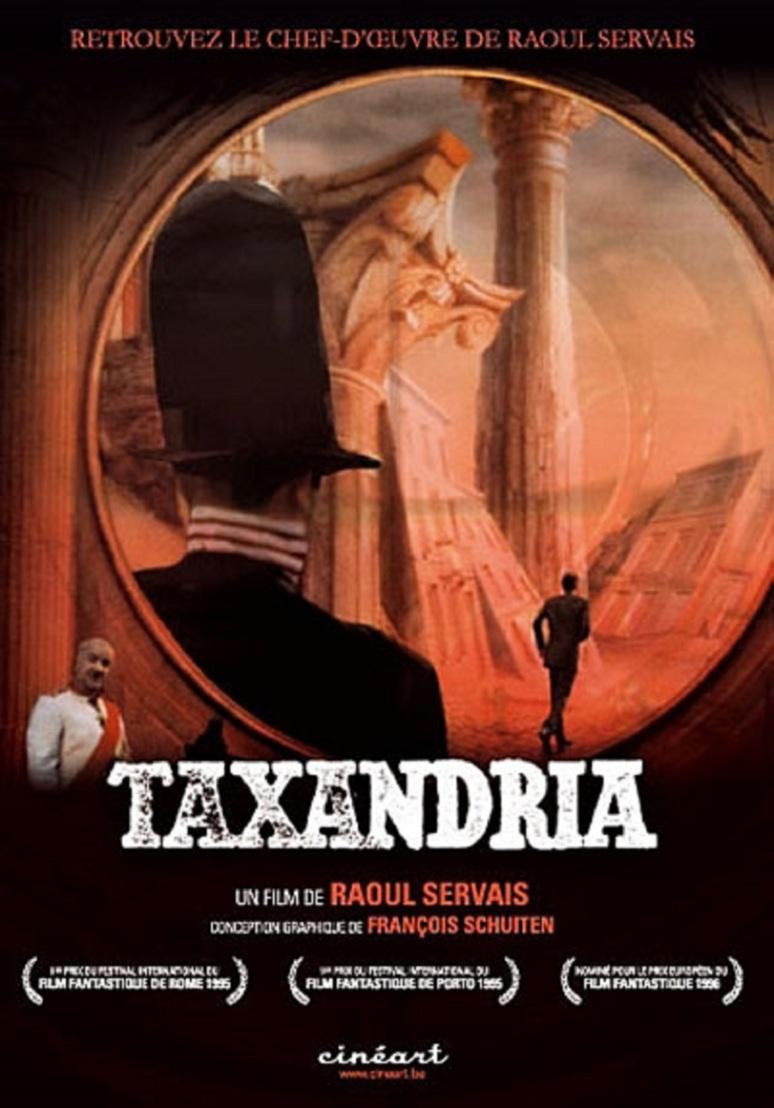 Affiche du film Taxandria de Raoul Servais avec la participation graphique de François Schuiten