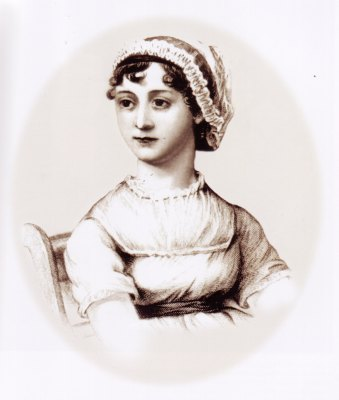 Portrait de Jane Austen, gravure
