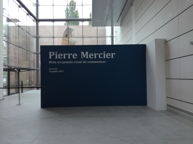 Pierre Mercier, Rien n'a jamais cessé de commencer, © Photographie : Sophie Guth