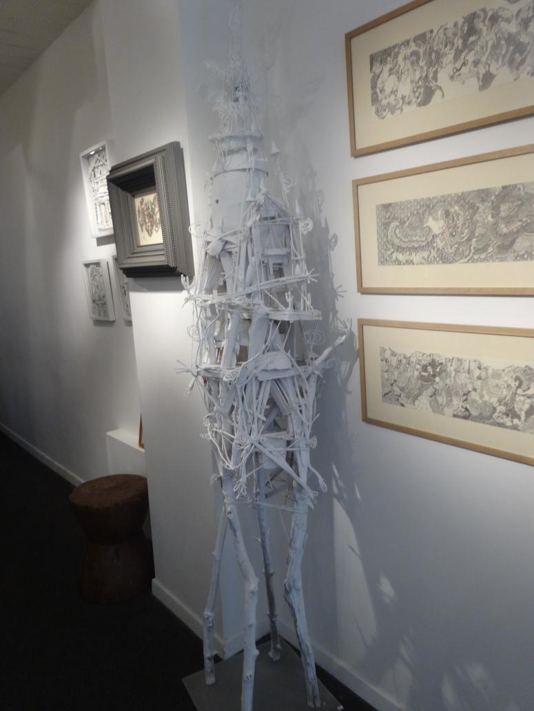 """Vue de l'exposition """"On dirait le sud"""". © photo: Galerie Béatrice Soulie"""