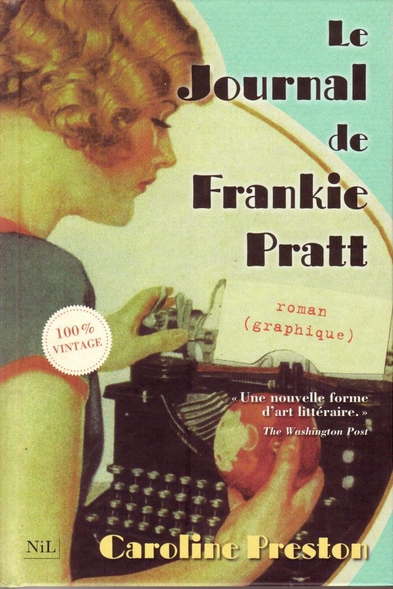 Couverture de l'ouvrage Le Journal de Frankie Pratt