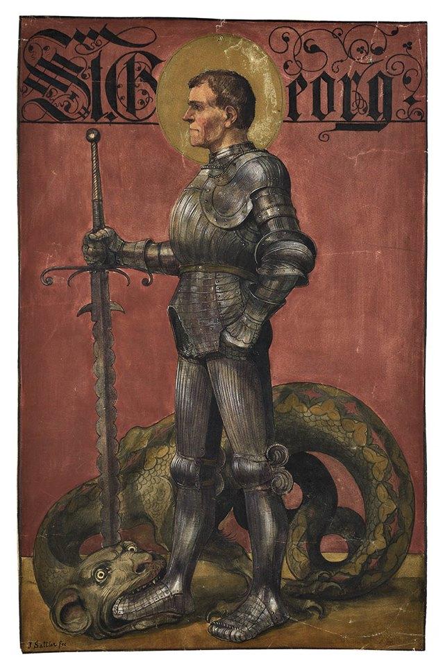 Saint George par Joseph Sattler