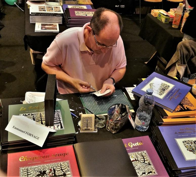 Emmanuel Fornage au Festival du livre de Colmar - 26.11.2017
