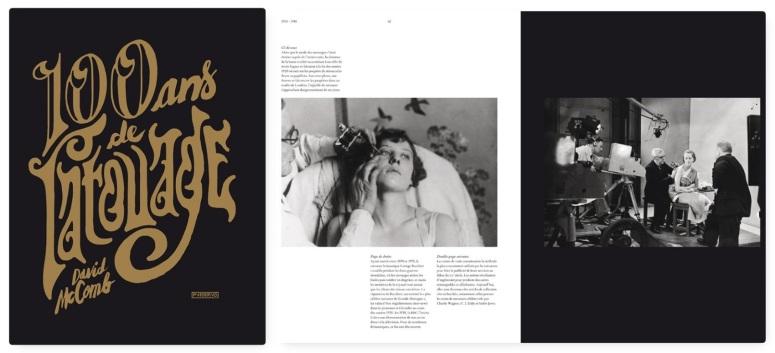 David McComb,100 ans de Tatouage, éditions Pyramyd - couverture - extrait de la page 62.