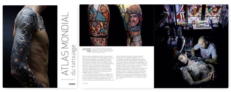 Anna Felicity Friedman, Atlas mondial du tatouage, éditions Pyramyd. - Extrait p.150.