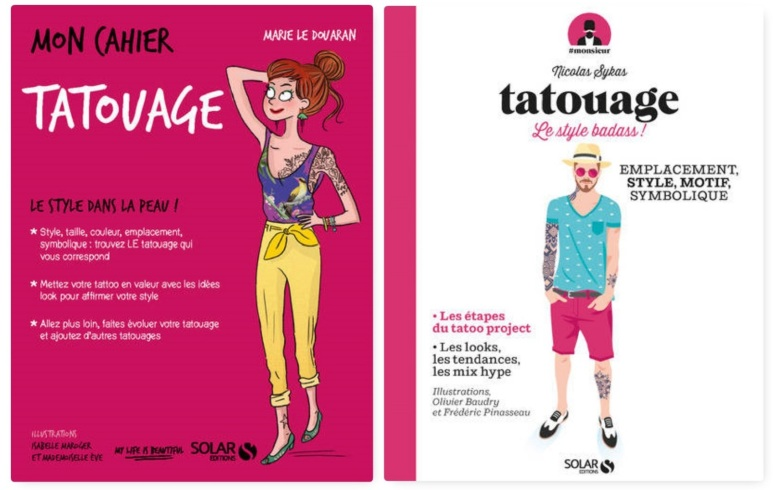 cahier tatouage