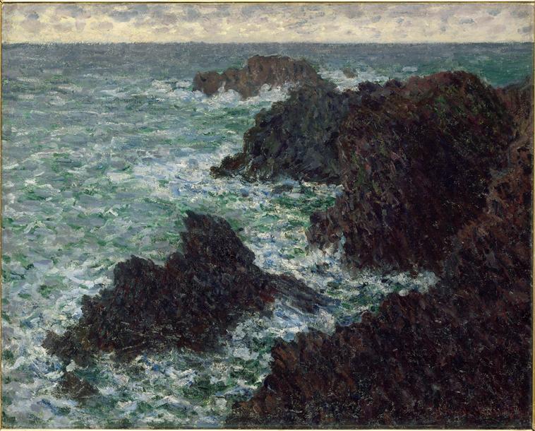 Claude Monet, La Côte sauvage, 1886