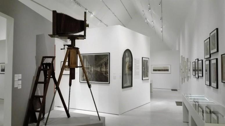 """""""reproduction d'oeuvres d'art"""", vue de l'exposition : L'évasion photographique, Adolphe Braun - Colmar Musée Unterlinden"""