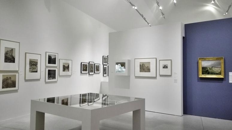 """""""L'Alsace photographiée"""", vue de l'exposition : L'évasion photographique Adolphe Braun - Colmar Musée Unterlinden"""