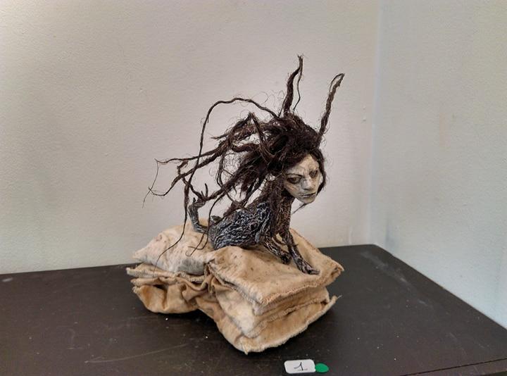 """Sabrina Gruss, """"La Carpe"""", s.d. © Sabrina Gruss. Courtesy Galerie Béatrice Soulié"""