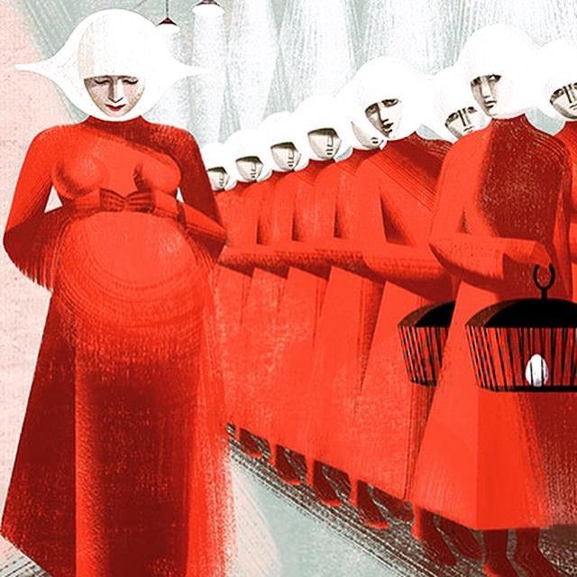 """La servante écarlate"" de Margaret Atwood"