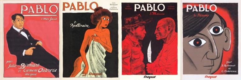 Pablo, éditions Dargaud