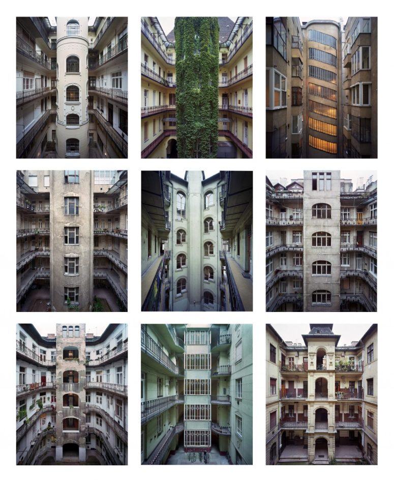 "Yves Marchand & Romain Meffre, ""Budapest Courtyards"", 2014-2016. © Marchand & Meffre"
