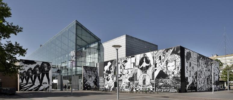 Collectif Fail façade du MAMCS © Mathieu Bertola - Musées de Strasbourg