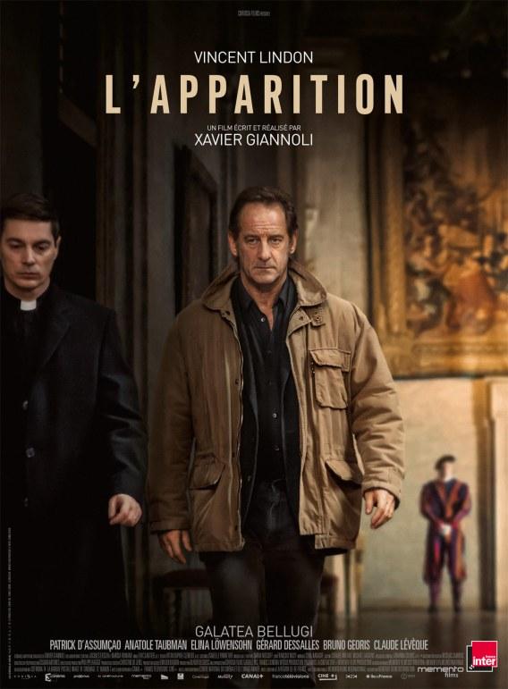 L'apparition, un film de Xavier Giannoli, avec Vincent Lindon et Galatea Bellugi, sorti le 14 février 2018.