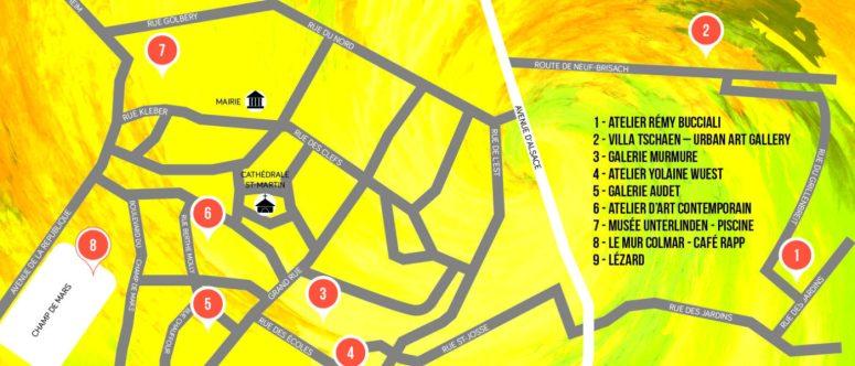 OPENING NIGHT - Colmar - Organisé par Versant Est (mise en page du flyer : Lézard)