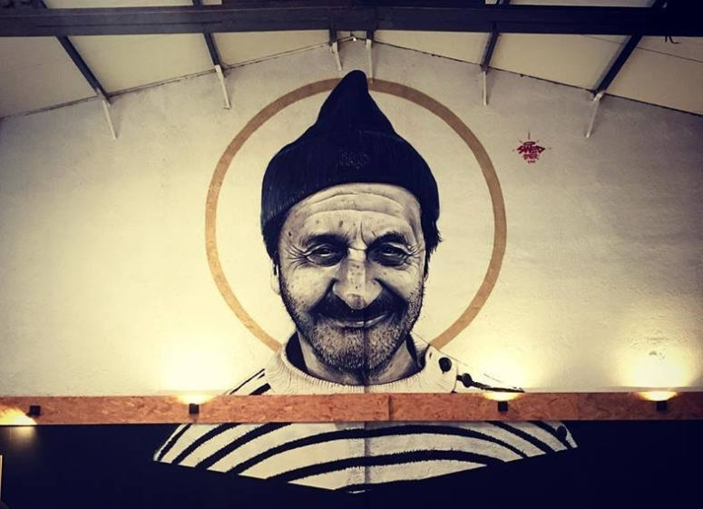 SWED ONER, L'algérien, fresque, 2019.