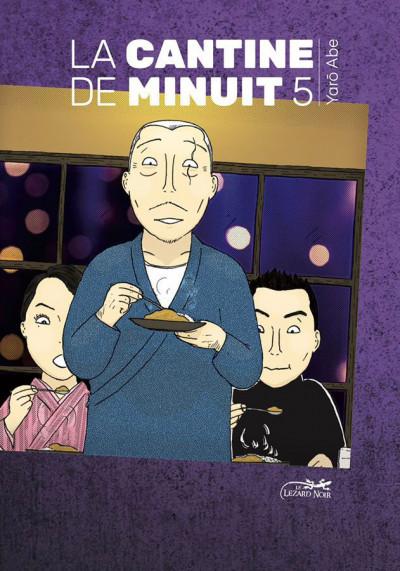 """Couverture de """"La Cantine de Minuit"""", tome 5 (à paraître, Le Lézard Noir, 6 juin 2019)"""