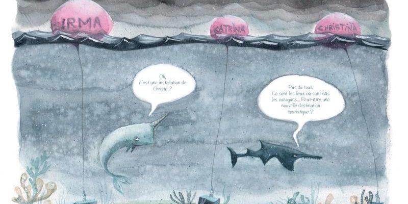 """Extrait de """"L'âge Bleu. Sauver l'océan"""" d'Anne Defréville, édition Buchet Chastel"""
